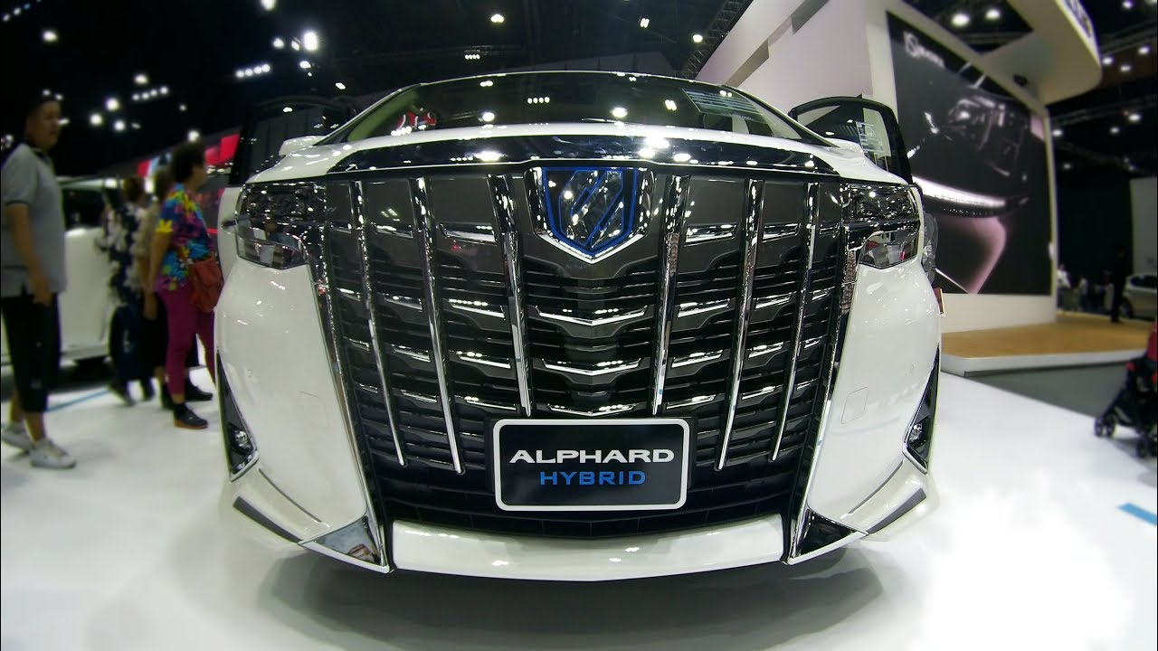 all new alphard hybrid grand avanza e at 2018 2019 toyota interior and exterior youtube