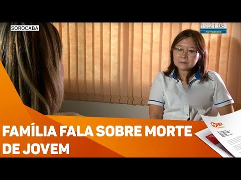 Família fala sobre morte de jovem - TV SOROCABA/SBT