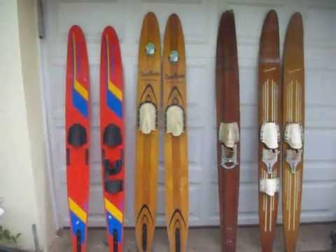 Vintage Wood Water Skis for SALE