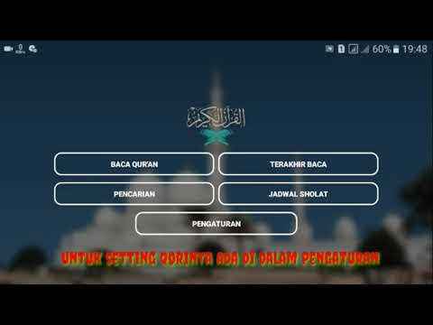 Aplikasi Alquran Android Lengkap Dengan Terjemahan Indonesia