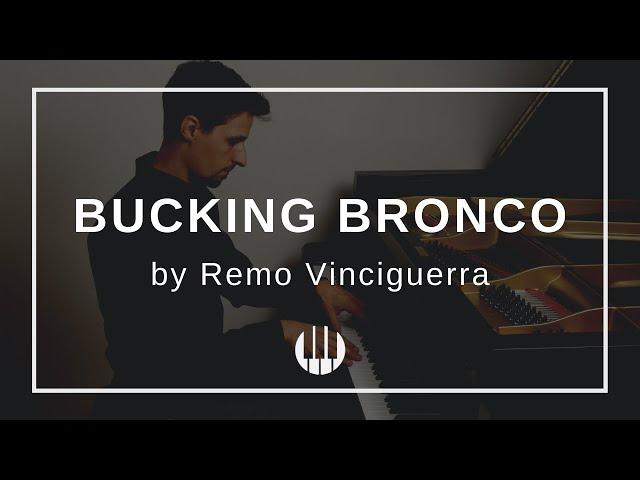 Bucking Bronco by Remo Vinciguerra