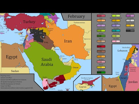 The Modern Middle East: Every Month Since 1900