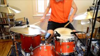 Emerson, Lake & Palmer - Knife Edge (drum cover by bellbrass)