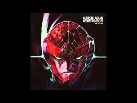 Gurren Lagann OST Disc 1 - 23 - To Hell with Your Combi / Gattai nante Kusokurae!! / 合体なんてクソくらえ!!