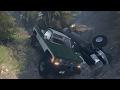 Rescate de Dodge RAM 1500 En el bosque! OffRoad Extremo con Chevrolet K10 | Spintires