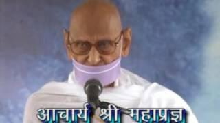 Acharya Shri Mahapragyaji's Last Pravachan