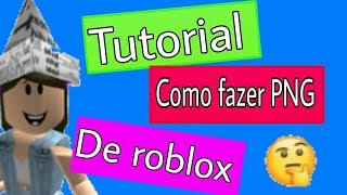Tutorial-How to make PNG from ROBLOX??