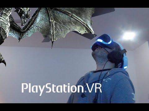 Me mata un Dragon (Video Reacción) Skyrim VR - 1era parte Ep. #16
