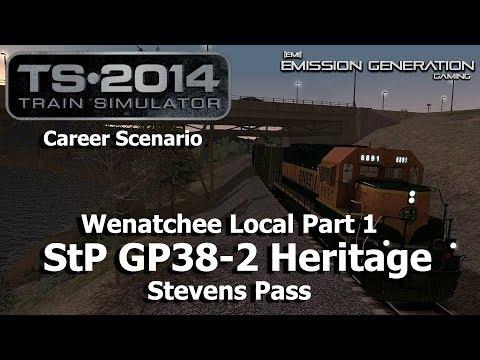 Wenatchee Local Part 1 - Career Scenario - Train Simulator 2014