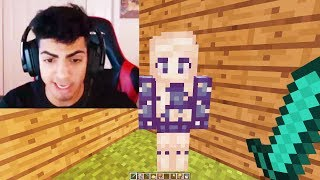TROLLING SKEPPY ON HIS MINECRAFT LIVE STREAM...