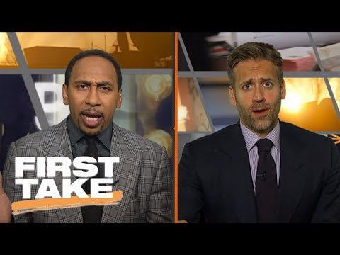 Stephen A., Max have heated debate on who won Kyrie Irving-Isaiah Thomas trade | First Take | ESPN