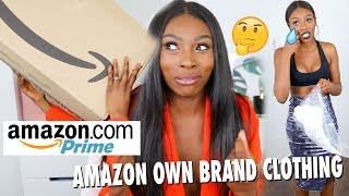 TRYING £1000 WORTH OF CLOTHING FROM AMAZONS NEW CLOTHING BRAND, SIS IS CONFUSED DOE?