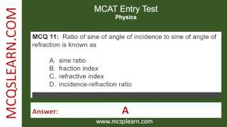 MCAT Entry Test Preparation – MCQsLearn Free Videos