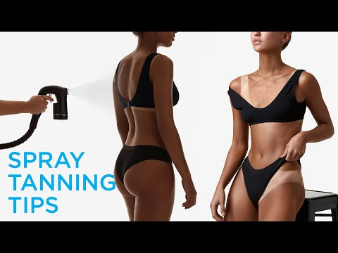 How to do a Spray Tan with Bondi Sands