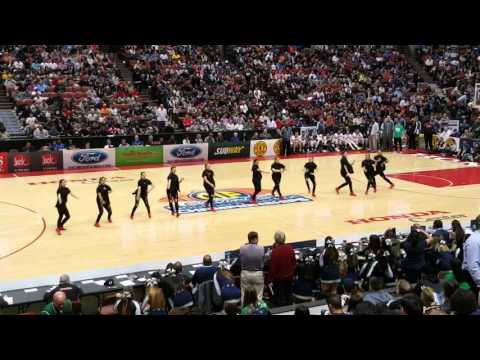 Chino Hills Dance Team | CIF Honda Center Basketball Game | Halftime Performance