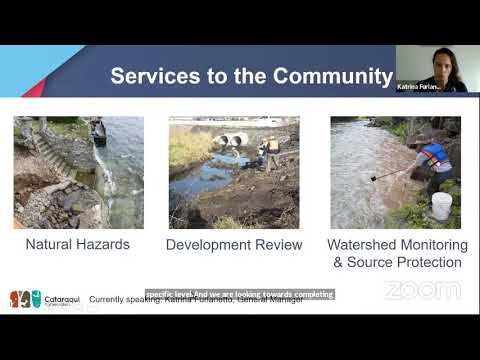 Virtual Budget Session with the Cataraqui Region Conservation Authority