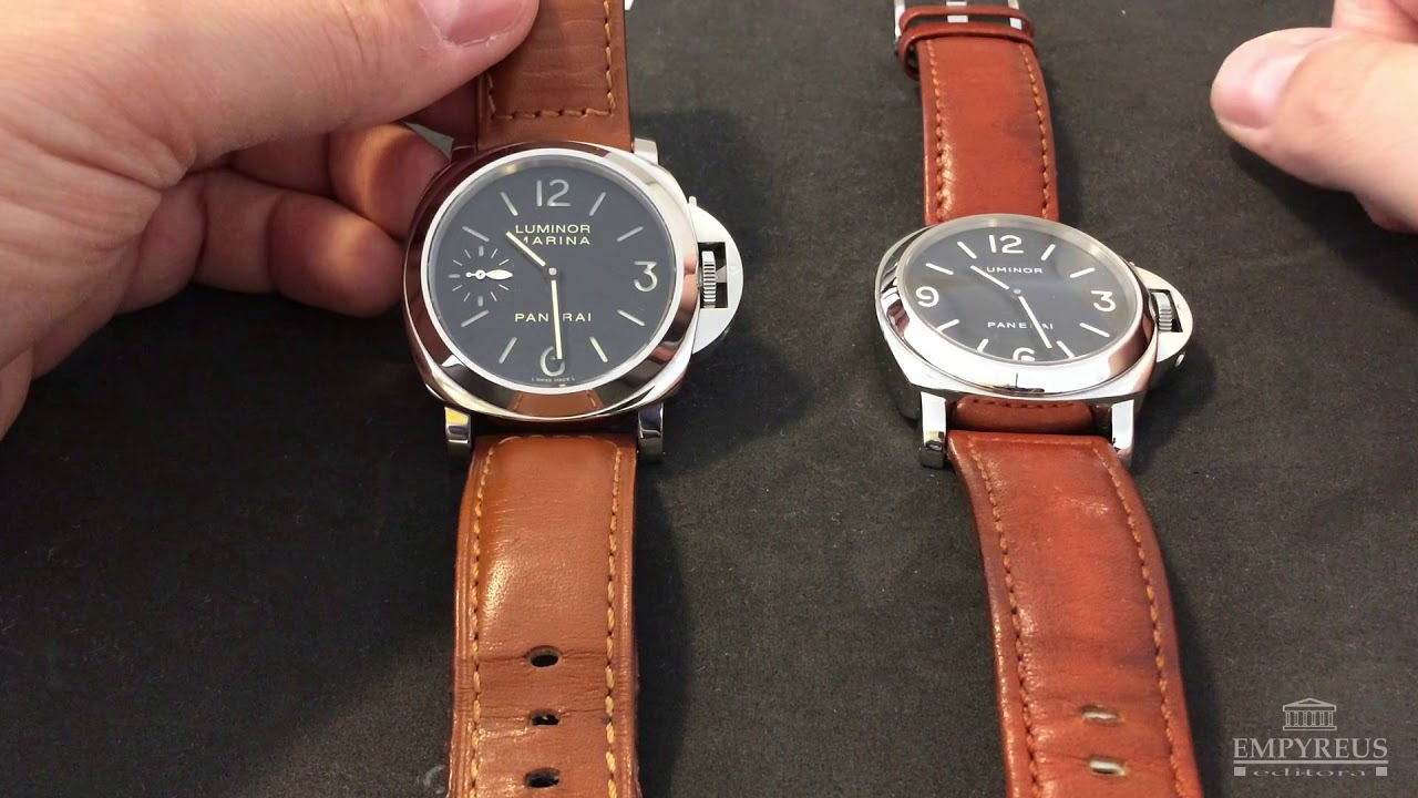 039b18525bc OFFICINE PANERAI MARINA LUNINOR - YouTube