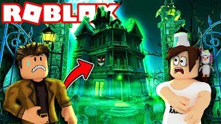 ALONE IN A HAUNTED HOUSE IN ROBLOX?