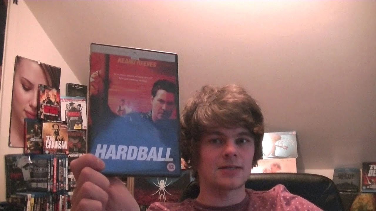 """movie review hard ball """"the games we play,"""" """"hard piano"""" and  (""""bricklayers in ball shorts/coachin' from the side of the ball  the yellow birds movie review:."""
