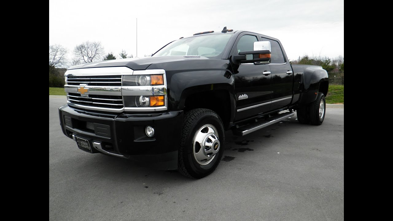 Gmc High Country >> sold.2015 Chevy Silverado 3500 HD High Country Crew Cab ...