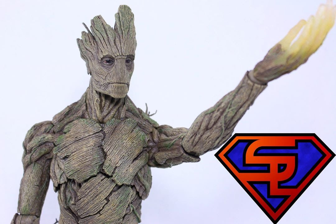Film Masterpiece Guardians Of The Galaxy Groot 1//6 Actionfigur Hot Toys Neu