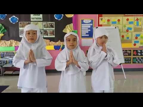 Hadits makan dan minum kelompok TK B islam al ikhlas cipete
