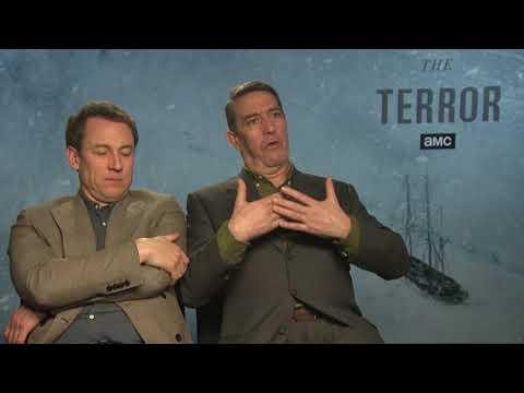 Serial Terror   Tobias Menzies i Ciaran Hinds opowiadają o swoich rolach  Napisy PL
