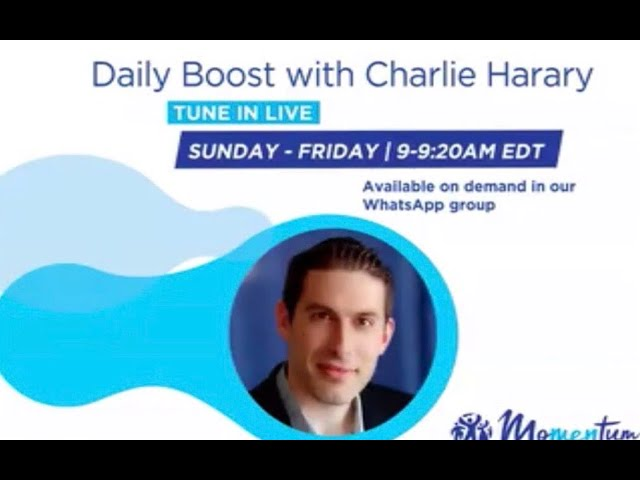"""Daily Boost Ep.71 """"Creating strong Rituals"""""""