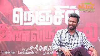 Director Suseenthiran Special Interview Nenjil Thunivirundhal