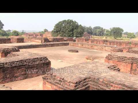 Ruins of ancient Nalanda University: Bihar