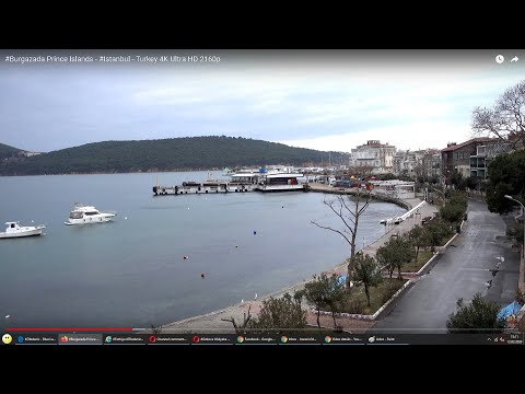 Burgazada Prince Islands - Istanbul - Turkey 4K Ultra HD 2160p