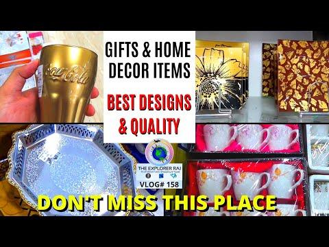 gift-items-&-home-decor-shopping- -pottery-market-ambala- -part-1