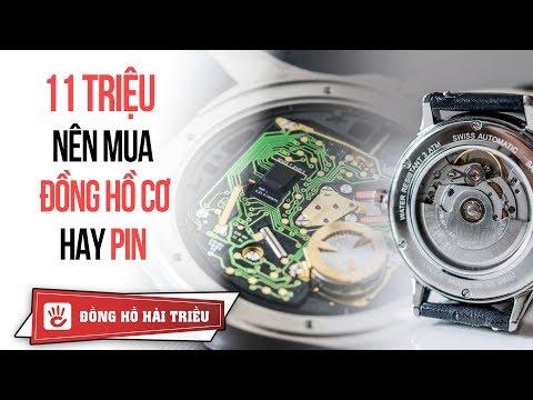 Với 11 Triệu Nên Mua Đồng Hồ Pin (Quartz) Thụy Sỹ Hay Đồng Hồ Cơ (Automatic) Nhật Bản