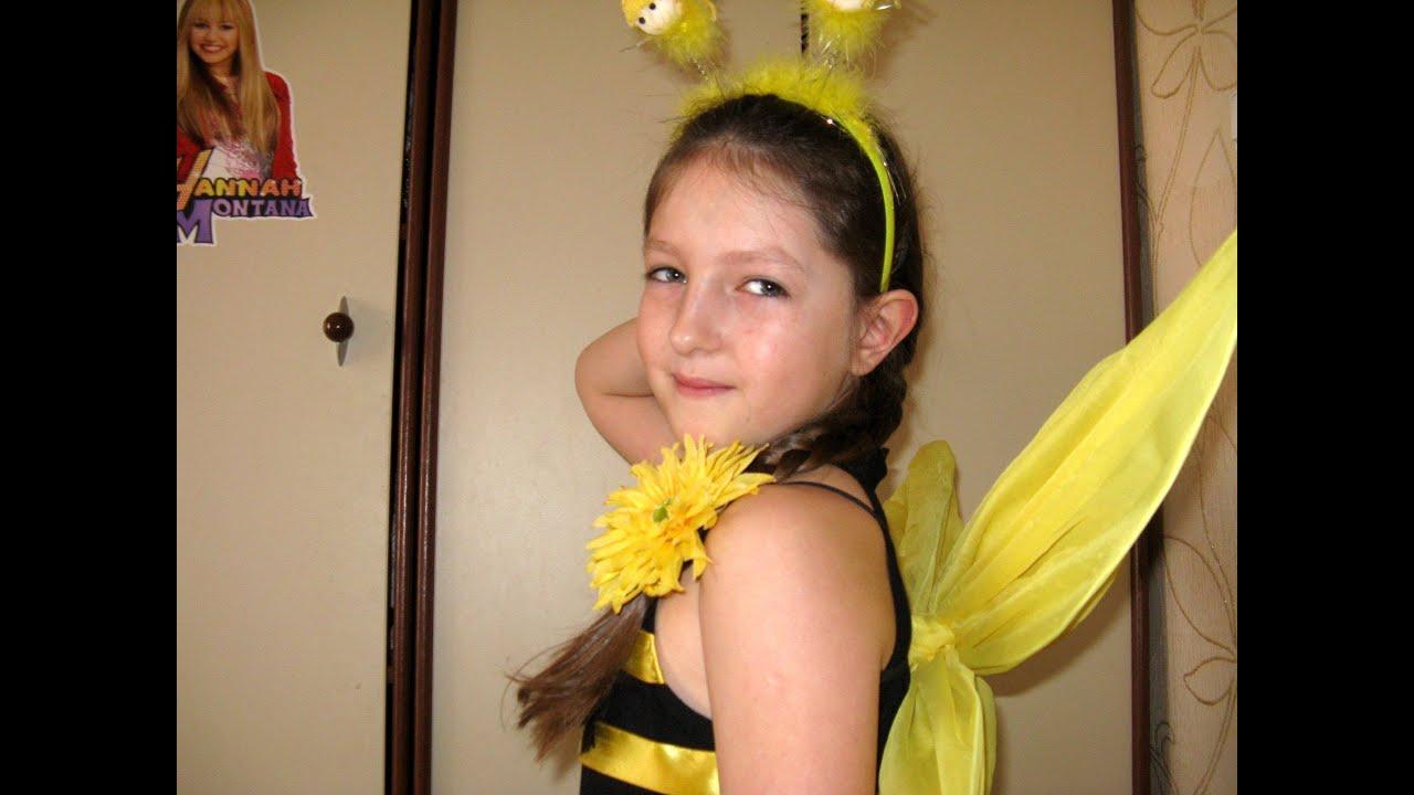 Костюм пчелки своими руками для девочки из подручных материалов фото 892
