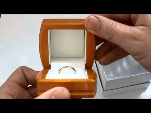 UNBOXING NEW LUXURY JEWELLERY RING BOX ANTIQUE LEATHER WOODEN WOOD BOX