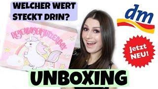 REGENBOGENGLITZERBOX VON DM l UNBOXINGl Welcher Wert steckt drin? + Verlosung