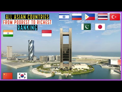 All Asian Countries From Poorest To Richest Ranking 2021.