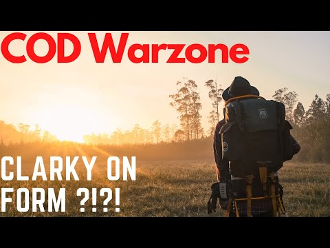 CLARKY ON FORM ?!?! (COD Warzone)