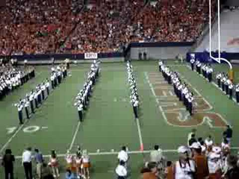 UTEP Marching Miners At Texas-UTEP Game