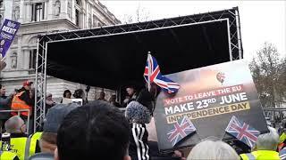 Tommy Robinson Speech Brexit Betrayal Event London