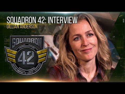 Squadron 42: Interview - Gillian Anderson