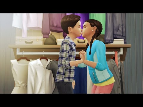 WHAT HAPPENS IN SUMMER CAMP  SPIN THE BOTTLE  A Sims 4 Story
