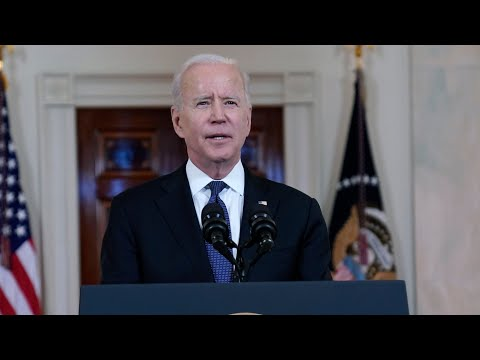 U.S. President Joe Biden reacts to Israel-Hamas ceasefire   FULL speech