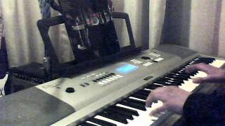 The Doors - Back door man organ(piano) and bass cover with a twin reverb amp