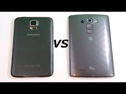 Samsung Galaxy S5 vs LG G4 (Fall 2016)