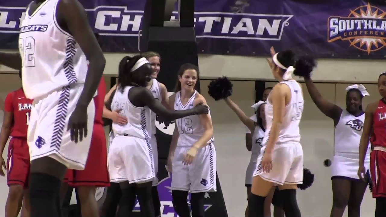 ACU Women's Basketball | ACU vs Lamar - YouTube