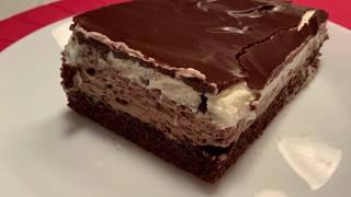 Шоколадный торт пирожное