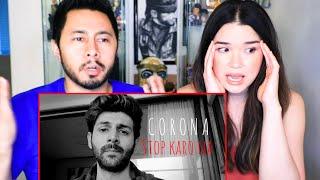 C*RONA STOP KARO NA | Kartik Aaryan | Monologue Reaction | Jaby Koay
