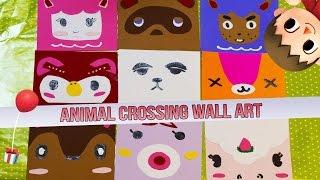 Video Game Diy: Animal Crossing Wall Art