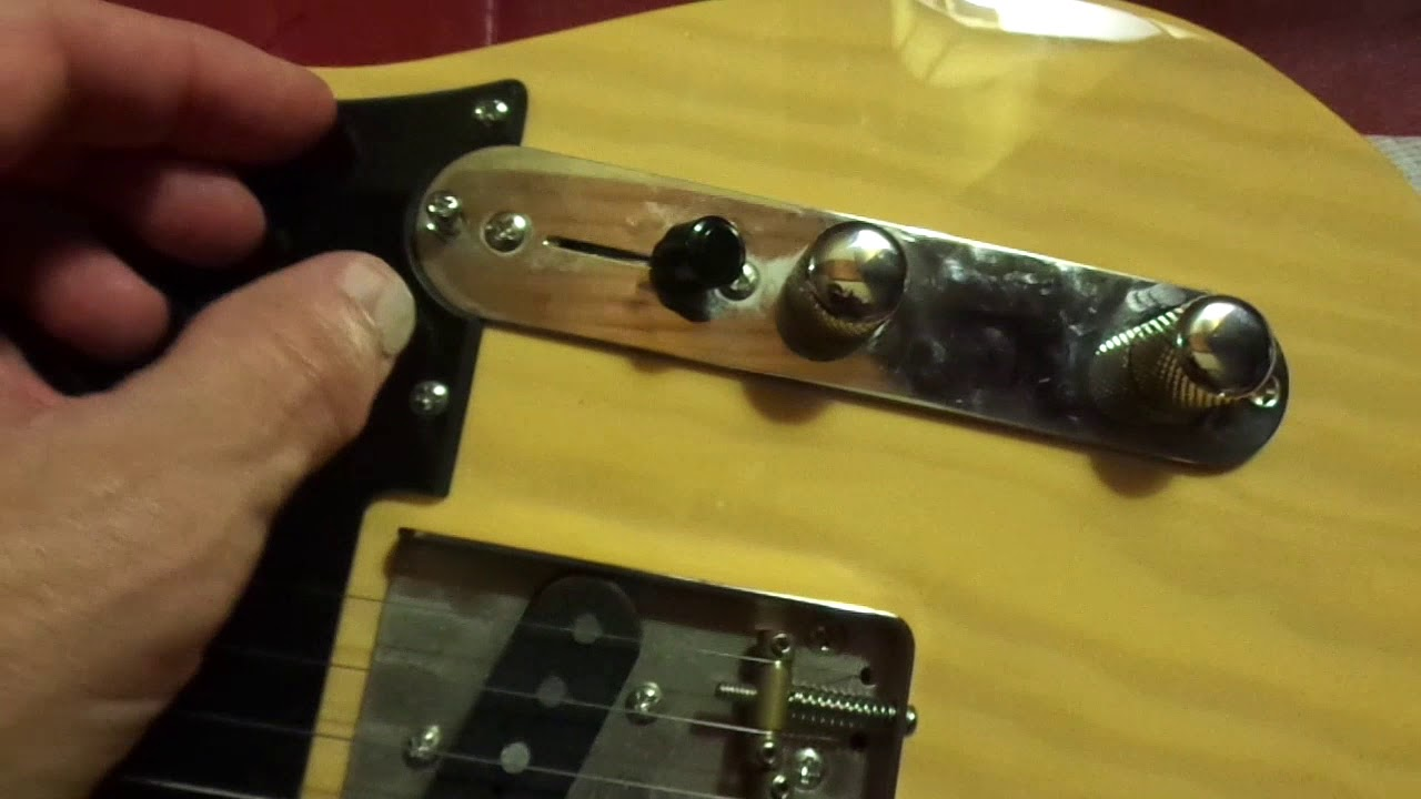 Telecaster Repair Cleaning Volume And Tone Pot With Contact Tele 4 Way Switch Problems Cleaner